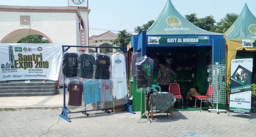 Peringatan Hari Santri Nasional: SMK Bayt Al-Hikmah Gelar Pameran Produk Unggulan