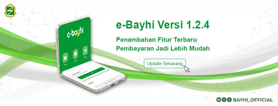 UPDATE APLIKASI E-BAYHI